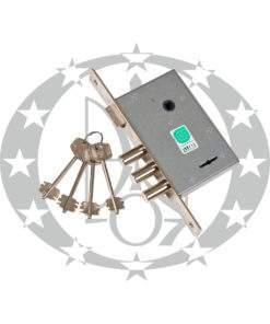 Замок врізний ГАРДІАН 10.11 77 ключ