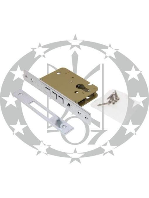 Замок додатковий врізний SAB O2100/50 E50 PZ OCL хром