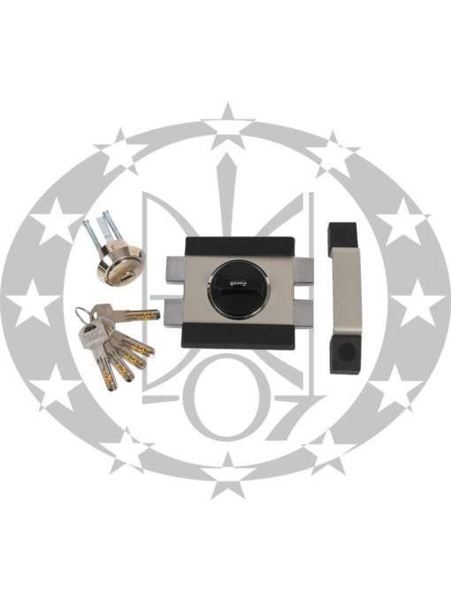 Замок GERDA - TYTAN ZX1000 нікель сатин