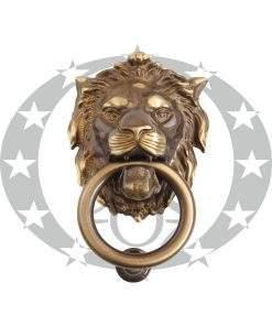 Дверний молоток Martinelli LEONE (2152/OGC) бронза