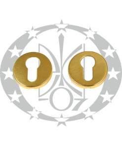 Дверна накладка Martinelli KRISTINA VIS PZ латунь (PBD12Y/OLV)