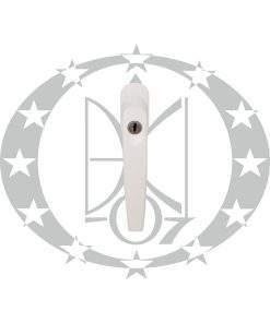 Ручка віконна DR MEDOS Pluton-ECO металева PZ біла