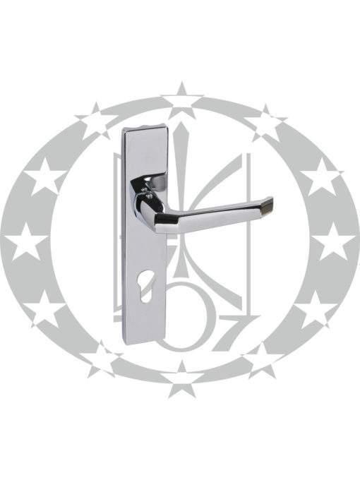Ручка дверна Czestochowa K-90 210 мм 90 PZ нікель