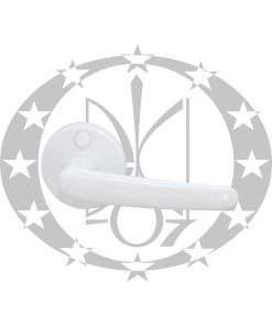 Ручка Plast-Pol Нова біла розета