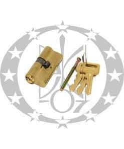 Серцевина GAM 31/31 латунь 3 ключі