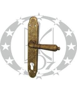 Ручка дверна DND Martinelli DANIELA 90 PZ AF антична латунь