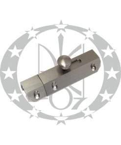 Засув Bras-Bolt 75 мм нікель сатин