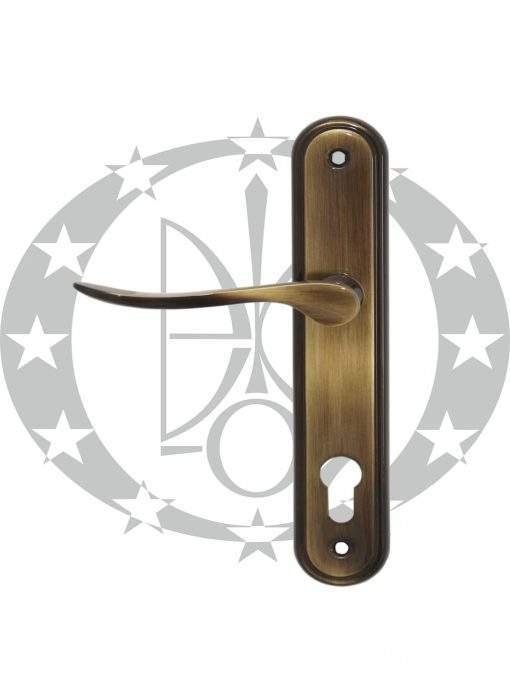 Ручка дверна Metal-Bud LYZECZKA 90 PZ бронза