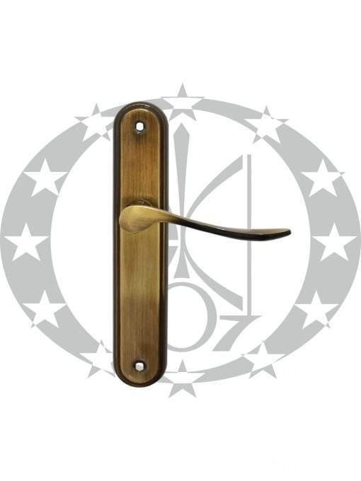 Ручка дверна Metal-Bud LYZECZKA глуха бронза