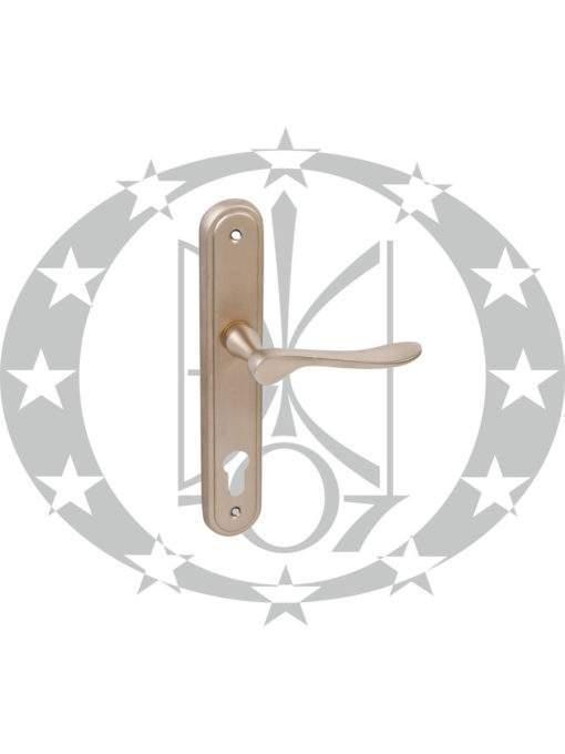 Ручка дверна Metal-Bud LYZECZKA 90 PZ нікель сатин