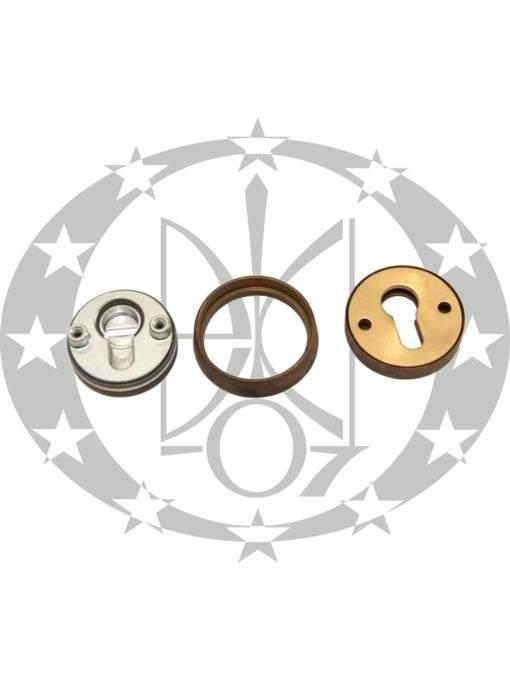 Накладка протизломна SAB art.304 OBS бронза місцево-сатинована