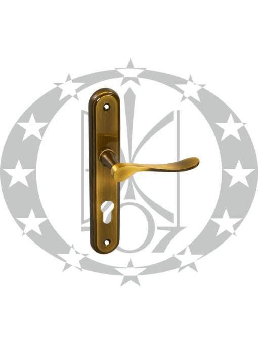 Ручка дверна Metal-Bud LYZECZKA 72 PZ бронза