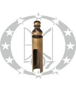 Накладка Ф14 декоративна Р бронза