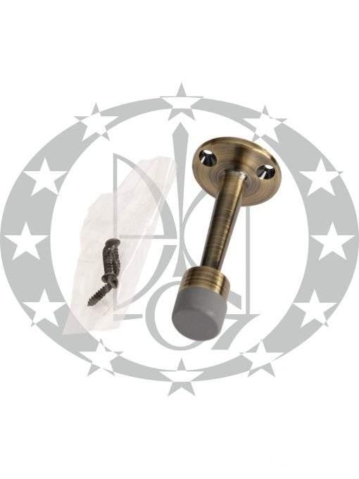 Обмежувач дверний стіна бронза