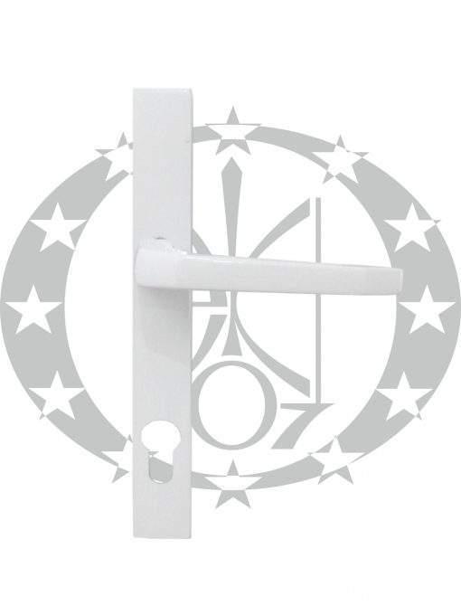 Ручка дверна Czestochowa K-90 ST-27 90 PZ фарбована біла