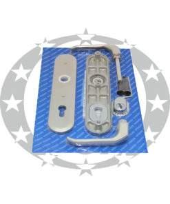 Ручка дверна GERDA TD - 1000 90PZ нікель сатин