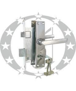Замок комплектний Прибалт ZV9 55 ключ