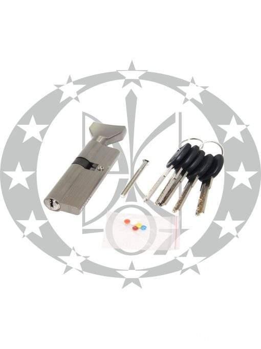 Серцевина IMPERIAL CK горизонтальний ключ 35/55 нікель