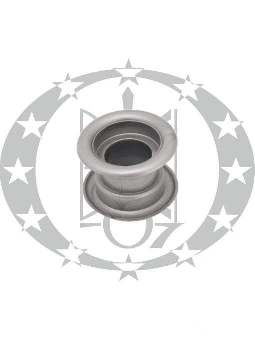 Пластикова вентиляція сіра кругла