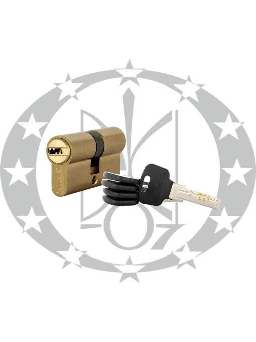 Серцевина GERDA WKM-1 30/40 горизонтальний ключ латунь