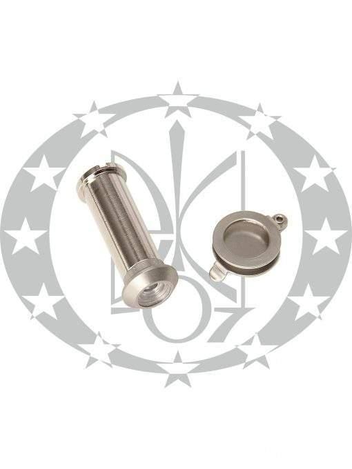 Дверне вічко d12 33 - 52 нікель сатин