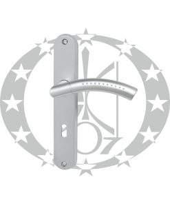 Ручка дверна Nomet GEMINI T-666-172 72 ключ (G6)