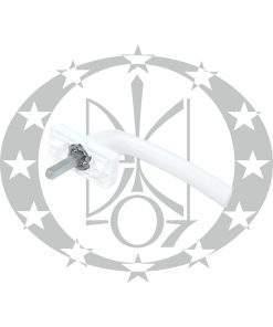 Ручка віконна DR металева біла