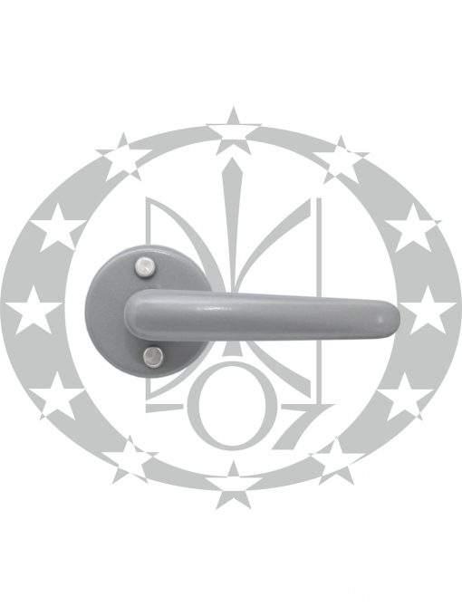 Ручка Нова срібна розета