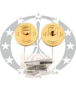 Дверна накладка з воротком Nomet T-004-112 WC G30