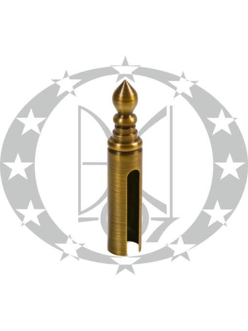 Накладка гостроверха Ф16 Р бронза