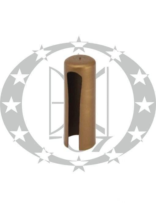Накладка пластикова плоска Ф14 старе золото