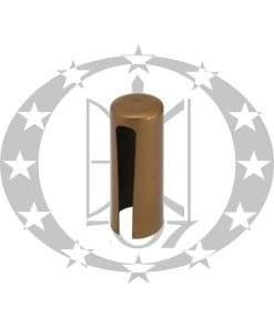 Накладка пластикова плоска Ф20 старе золото