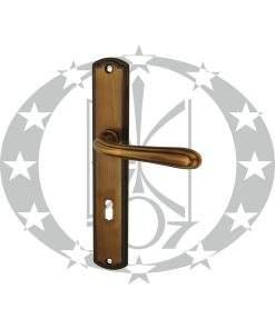 Ручка дверна Nomet CETUS T-856-172 72 ключ (G10)