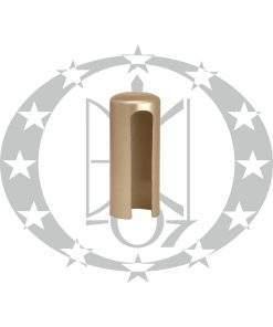 Накладка на завіси Ф16 нікель сатинований