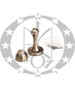 Дверний магнітний обмежувач Metal-Bud бронза