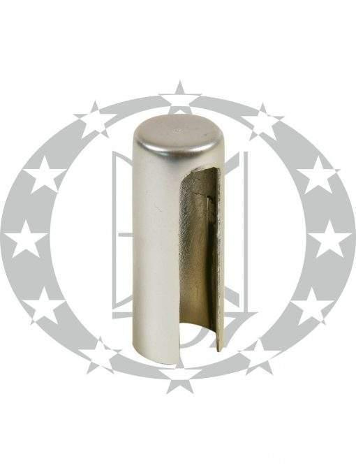 Накладка на завіс Ф14 нікель сатинований