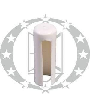 Накладка пластикова біла Ф14