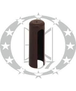 Накладка пластикова Ф14 коричнева