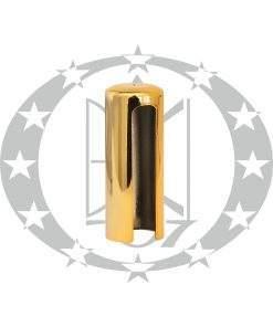 Накладка плоска Ф20 золото пластикова