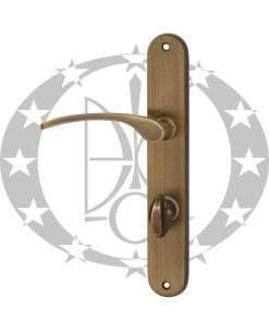 Ручка дверна Martinelli LAURA 72 WC OGR бронза (340/T-72/OGR)