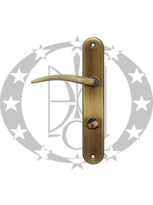 Ручка дверна Metal-Bud FING 72 WC бронза