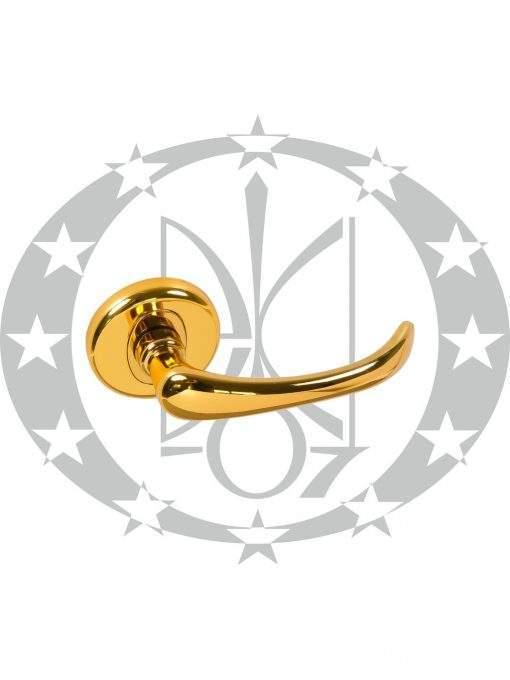 Ручка дверна Nomet VIRGO T-891-104/06 розета (G30)