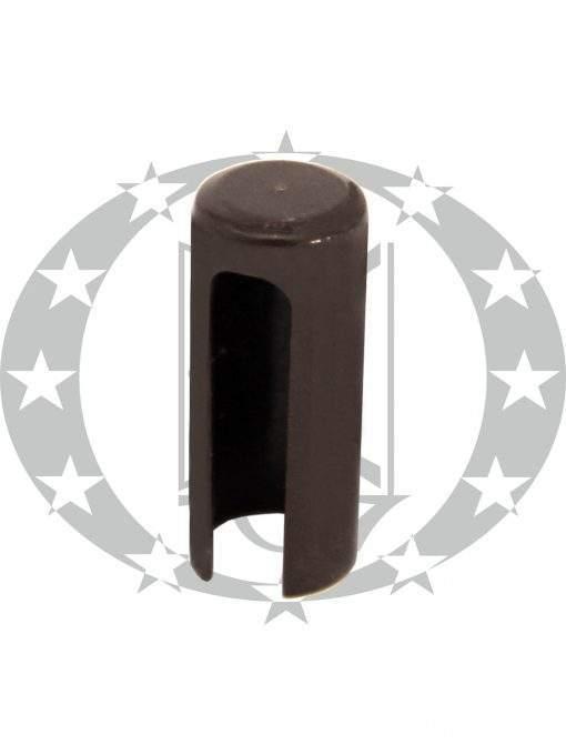 Накладка довга пластикова коричнева Ф13,5