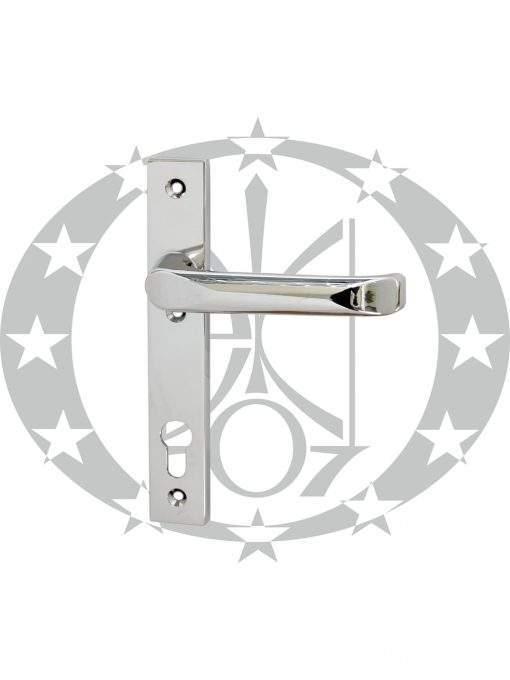 Ручка дверна FAM Jupiter (45.21.054P/055L) вузька 90 PZ хром
