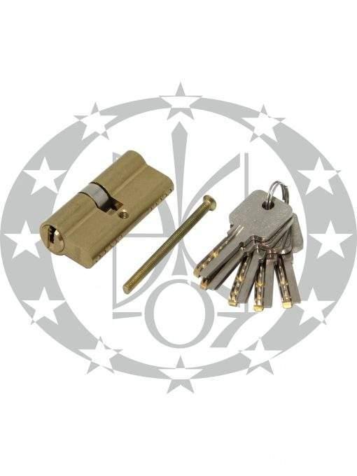 Серцевина GMB горизонтальний ключ 30/30 латунь