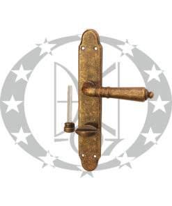 Ручка дверна Dnd Martinelli DANIELA 72 WC AF антична латунь