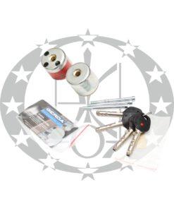 Серцевина GERDA RIM6000S 5 ключів цинк старий варіант
