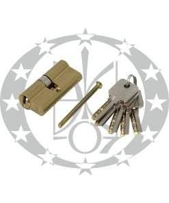 Серцевина GMB горизонтальний ключ 30/40 латунь