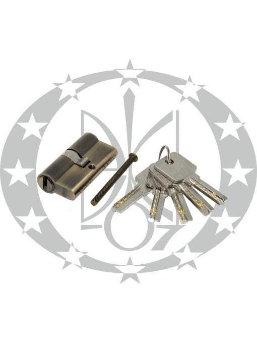 Серцевина GMB горизонтальний ключ 30/30 бронза