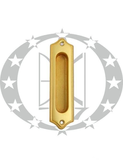 Ручка до розсувних дверей 6109 латунь сатин